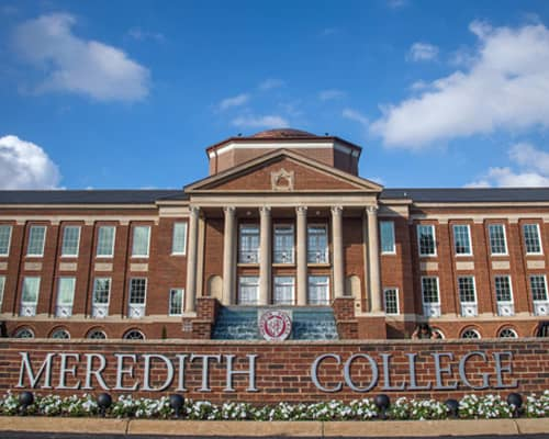 473a3b435e1 Meredith College - Colleges of Distinction  Profile