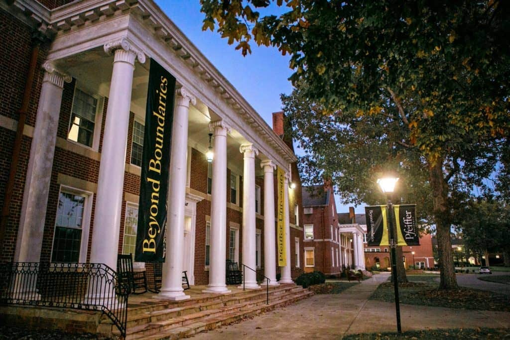 Colleges In Nc >> Pfeiffer University – Colleges of Distinction