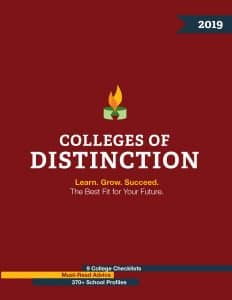 Colleges of Distinction 2019: The Best Fit for Your Future
