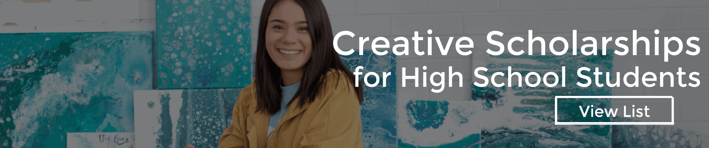 Scholarships for Creative High School Students Aspiring to Attend College