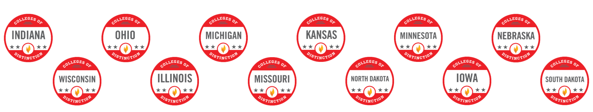 The Best Colleges of Distinction in the Midwest Region