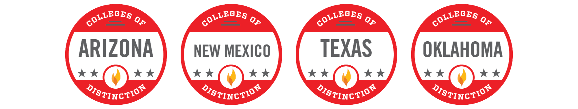 The Best Colleges of Distinction in the Southwest Region