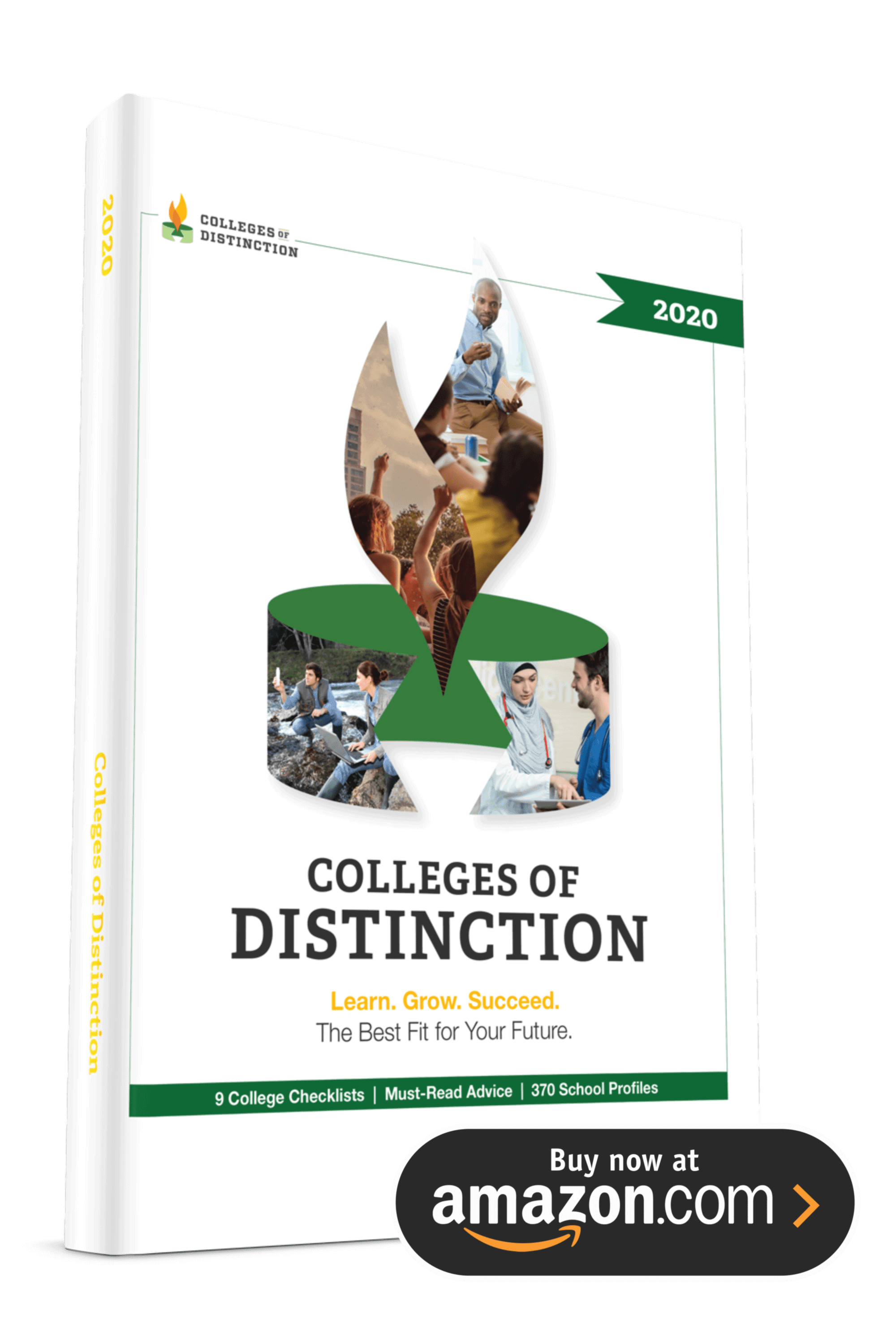2020 Colleges of Distinction Guidebook: Buy on Amazon