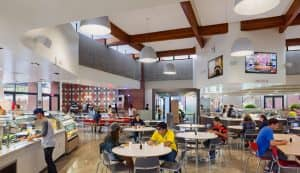 CSU Long Beach Dining Hall Cafeteria