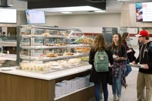 Oklahoma Christian University Dining Hall Cafeteria