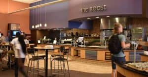 Roanoke College Dining Hall Cafeteria