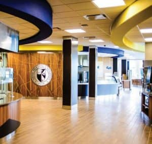 Siena Heights University Dining Hall Cafeteria